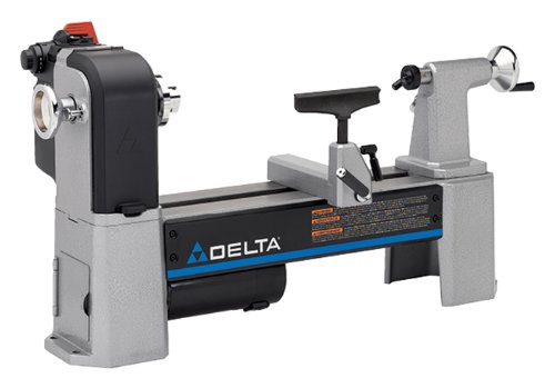 Delta Industrial 46-460 12-1 by 2-Inch Variable-Speed Midi Lathe