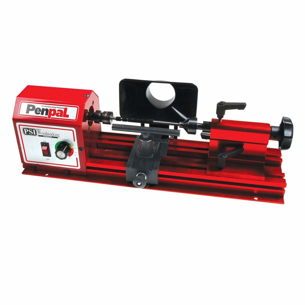 PSI Woodworking PENPAL Portable 15-Pound Mini Penmaking Lathe